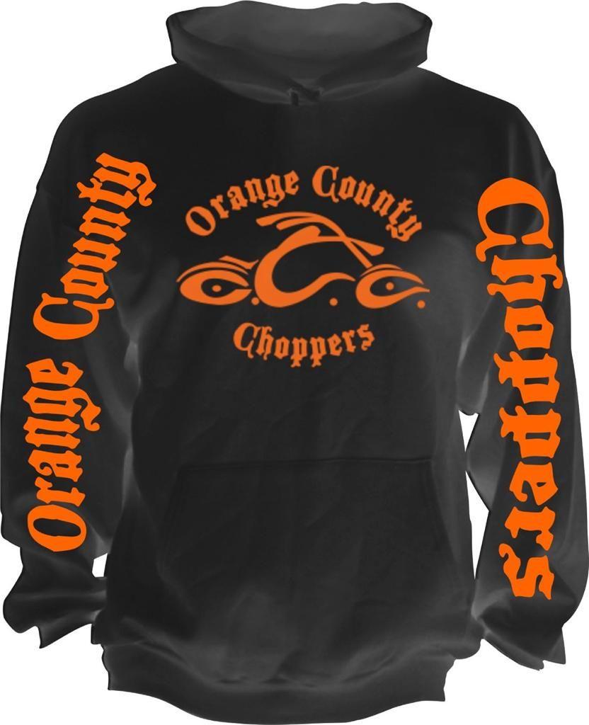 817303b7 Sweatshirt Orange County Choppers | New-Retro-American-Biker-Orange -County-Choppers-Motorcycle-OCC-Hoodie .