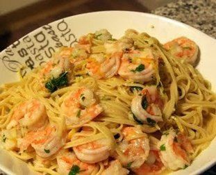 Shrimp Pasta Recipe | The Man With The Golden Tongs | Scoop.it