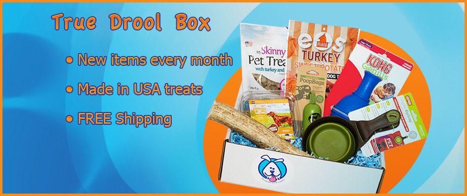 True Drool Box Dog Subscription Dog Subscription