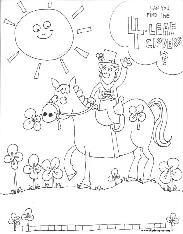 Coloring Page for St Patrick\'s Day | St Patricks | Pinterest
