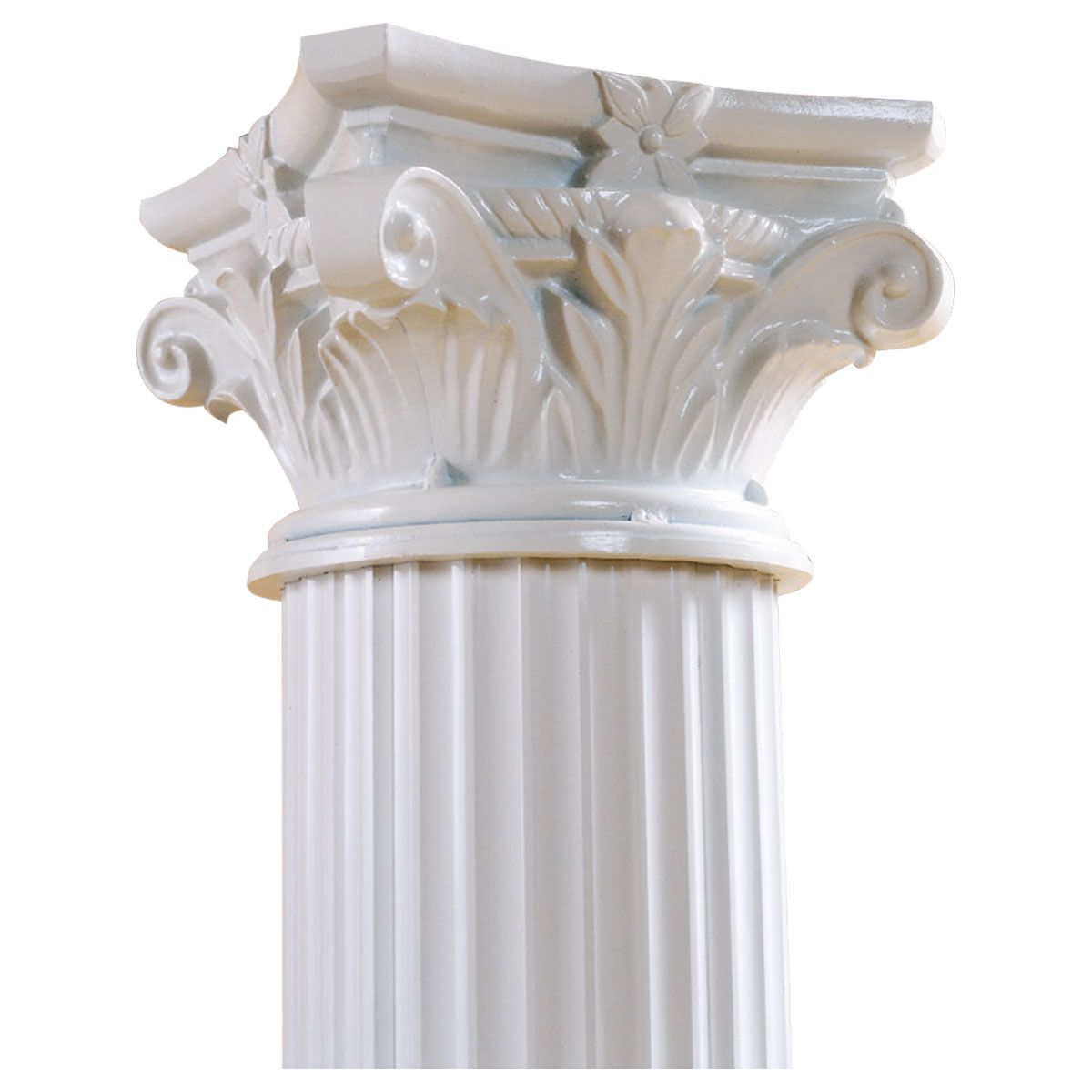 Roman Corinthian Capital For Endura Aluminun Round Fluted