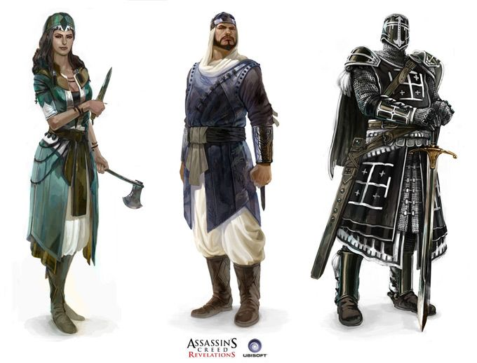 Assassin S Creed Concept Art By Antoine Rol Assassins Creed