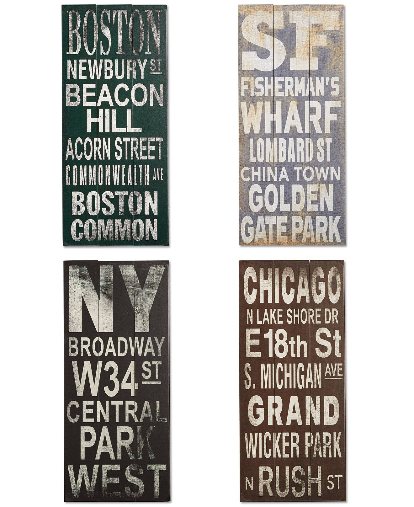 Rep Your City With Style Artehouse S Destination Signs