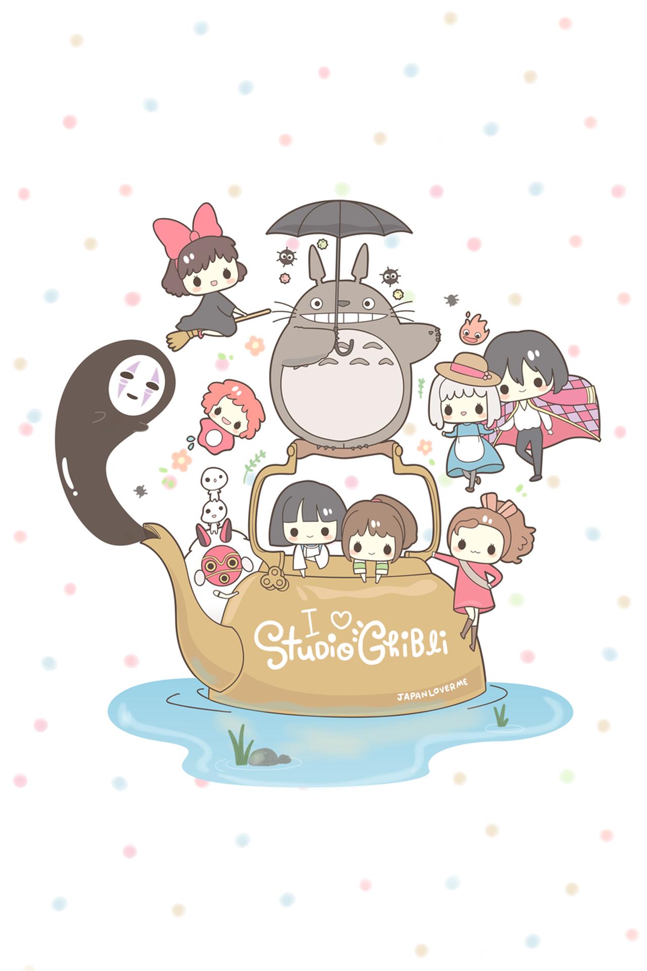 17 MustHave Studio Ghibli Gifts สติกเกอร์, โทโทโร่, ส