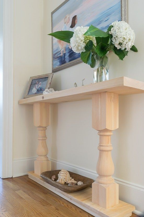 Photo of Build a Console Table: A Fun First Furniture Build