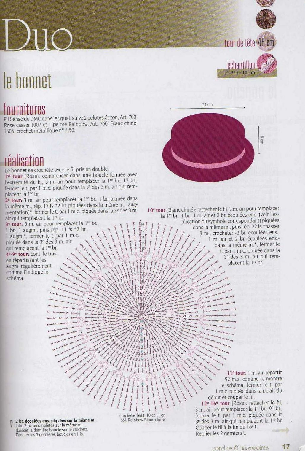 Le Bonet | Mũ | Pinterest | Gorros, Tejido y Gorros crochet
