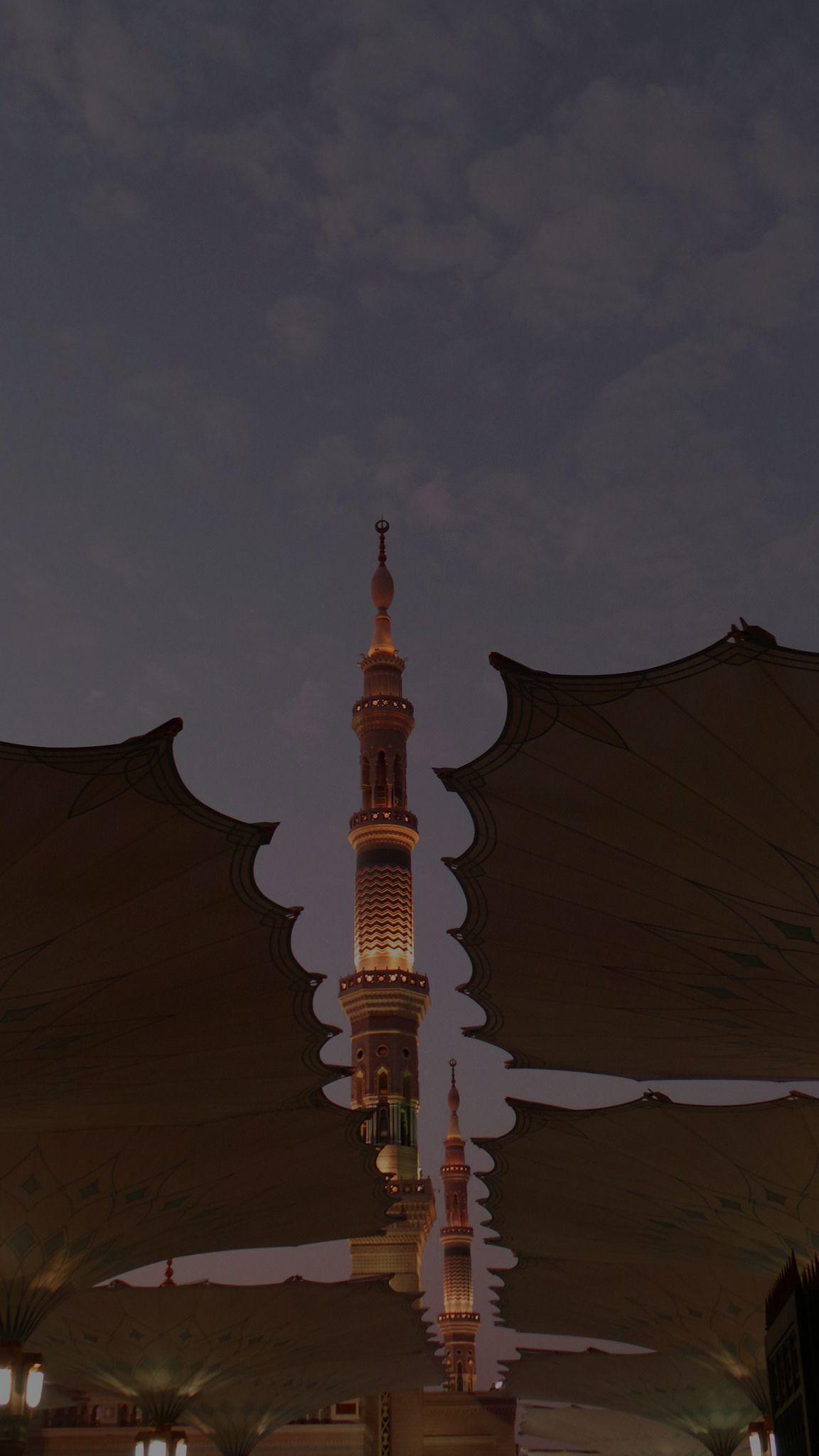 المسجد النبوي الشريف في المدينة المنورة Arsitektur Budaya Fotografi Arsitektur Wallpaper Islami