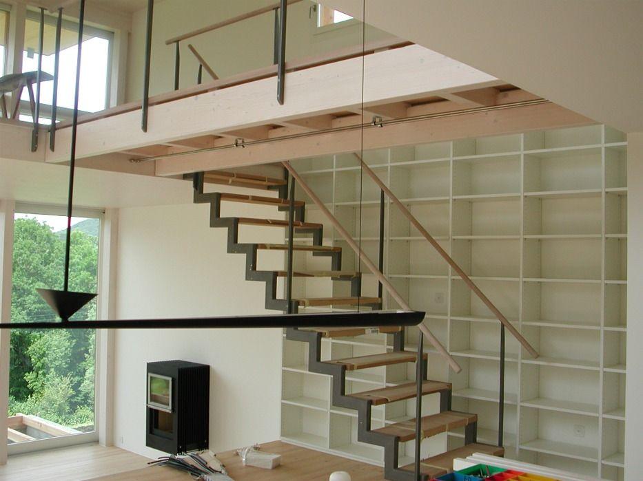 Hürzeler Holzbau AG - Treppen Escaleras Pinterest Holzbau - holz treppe design atmos studio
