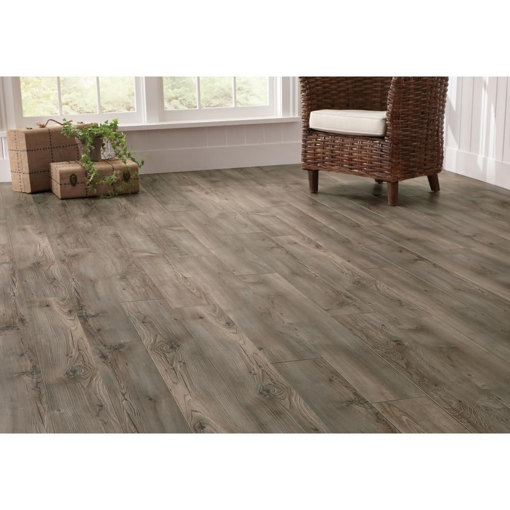 Home Decorators Collection Kensington Hemlock 12 Mm Thick X 6 1/4 In. Wide  X 50 25/32 In. Length Laminate Flooring (15.45 Sq. Ft. / Case)