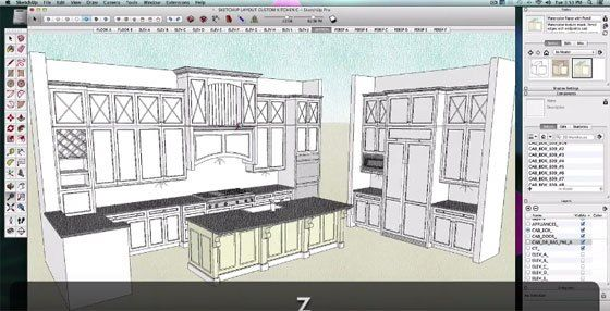 Sketchup Kitchen Tutorial Design Kitchen Sketchup Kitchen Design Stunning Autocad For Kitchen Design Decorating Inspiration