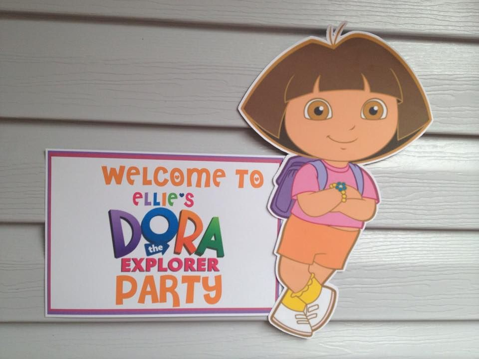 The Ultimate Dora The Explorer Party Setup  FREE PRINTABLES
