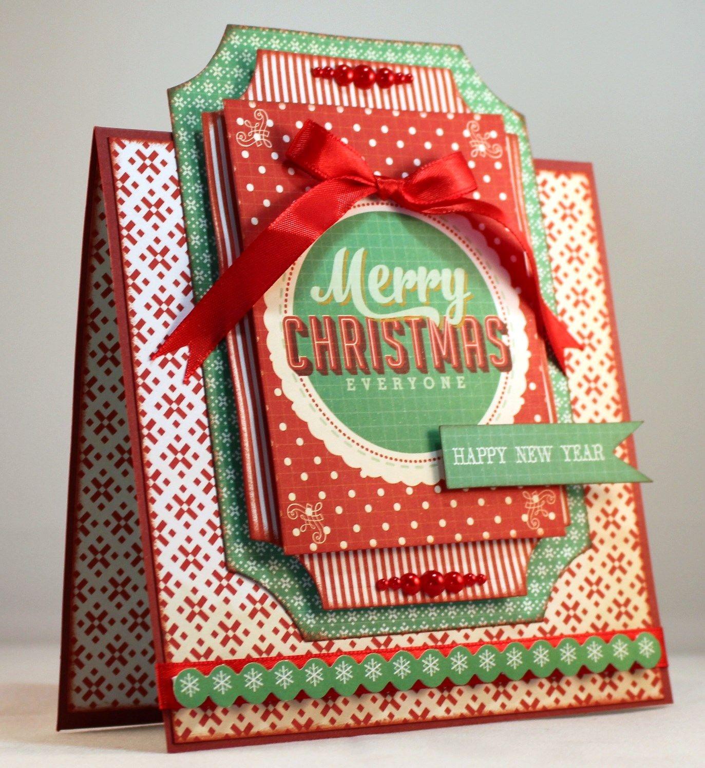 sandie edwards  gingerbread  card 2  christmas cards