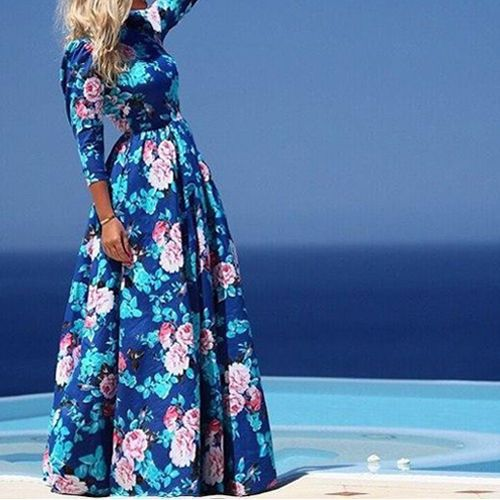 Vintage-Women-Boho-Floral-Print-Long-Sleeve-Party-Cocktail-Evening-Maxi-Dress