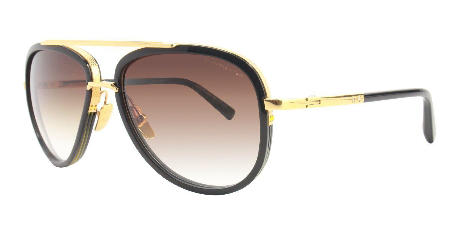 57eafac75e6 Dita - Mach Two Gold - Brown sunglasses
