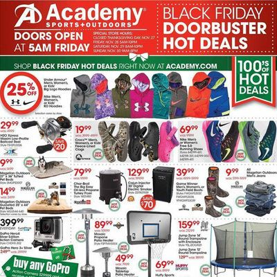 Academy Sports And Outdoors Black Friday 2014 Ad Black Friday Ads Sports