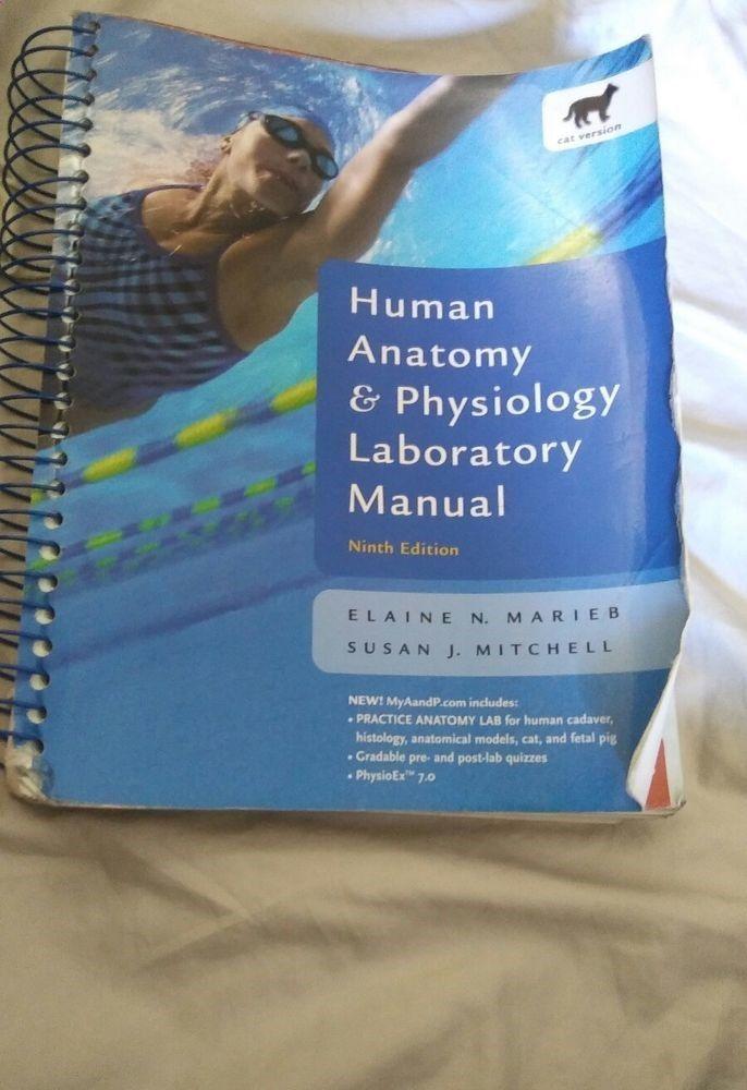 Human Anatomy And Physiology Laboratory Manual Cat Version by Marieb ...