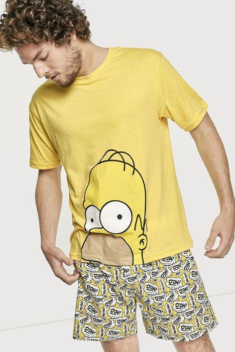 Simpson Pijama Pijamas De Parejas Frases Para Camisas Pijamas