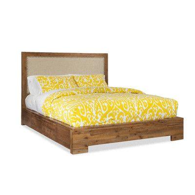 Cresent Furniture Waverly Upholstered Double Storage Platform Bed U0026 Reviews    Wayfair