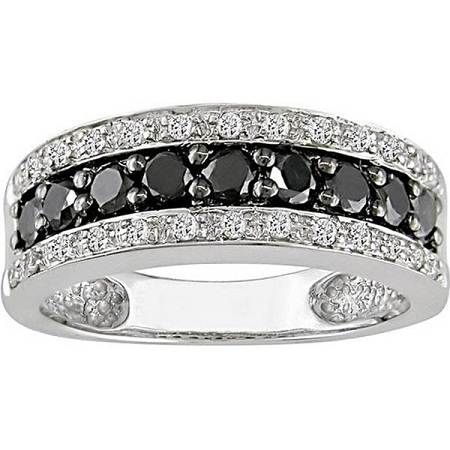 black diamond wedding rings black wedding bands wedding rings for