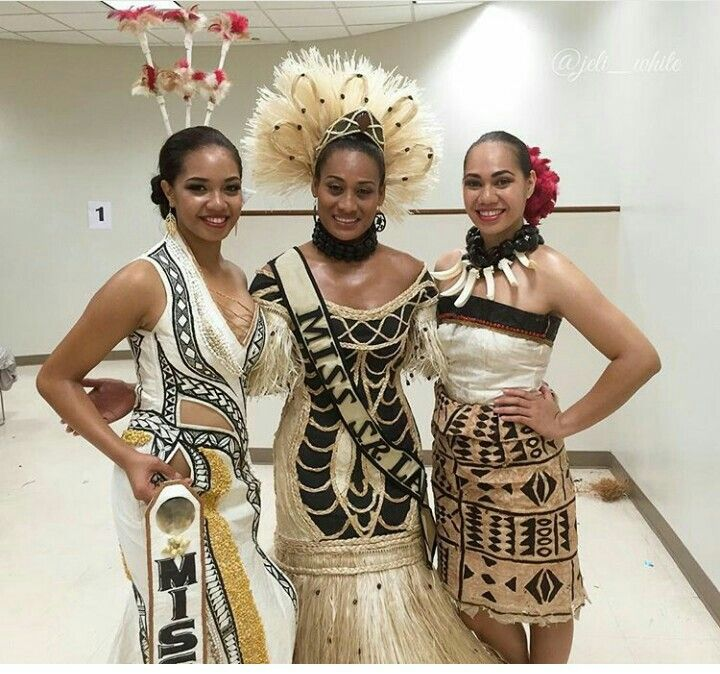 Hawaiian Fashion, Fijian Clothing