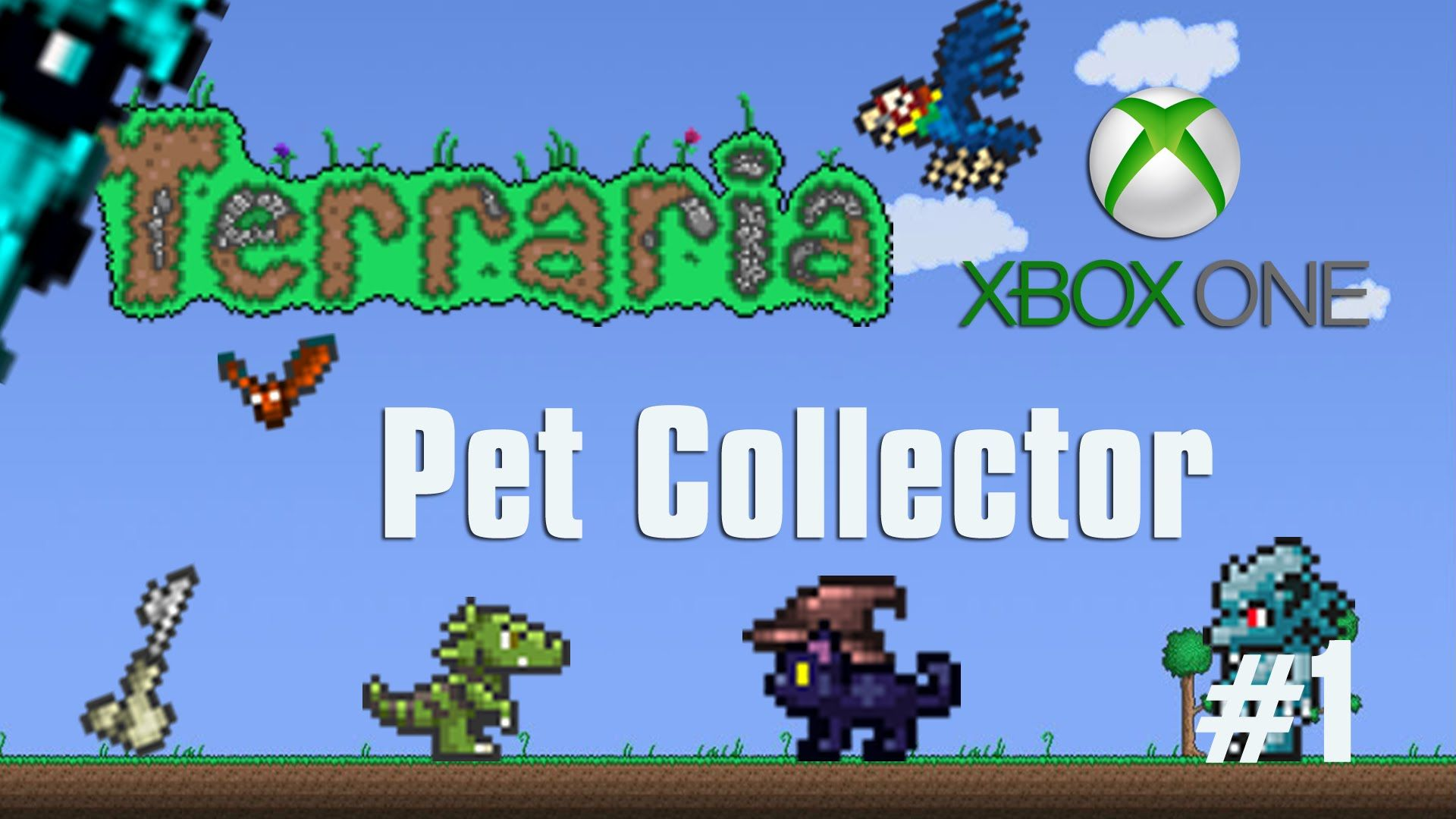 Terraria Xbox One Let S Play Pet Collector 39 Xbox One Lets Play Luke Games