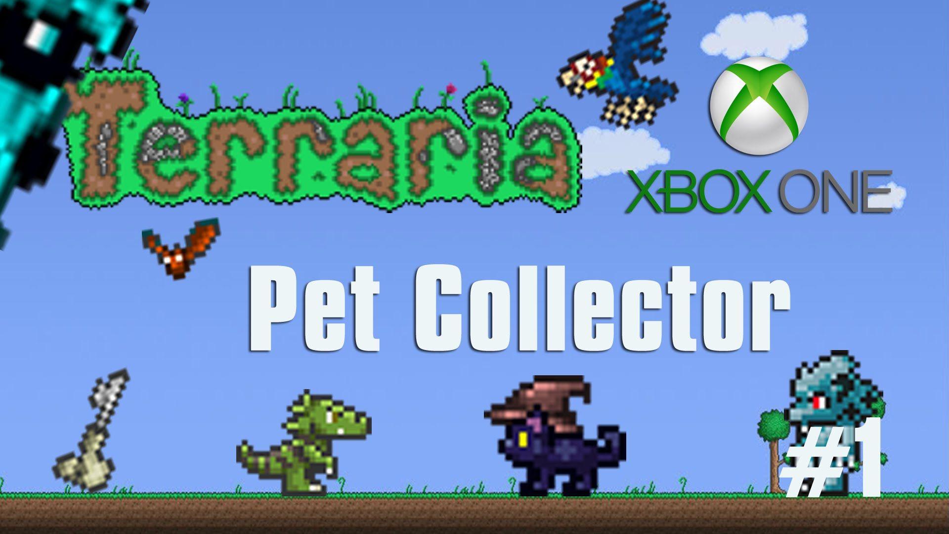 Terraria Xbox One Let's Play - Pet Collector [39] | Terraria Xbox ...