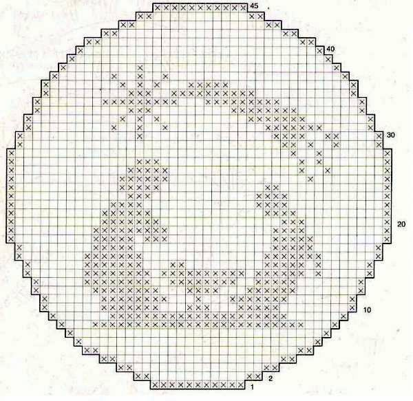 crochet , patrones: navideño | Plastic Canvas | Pinterest