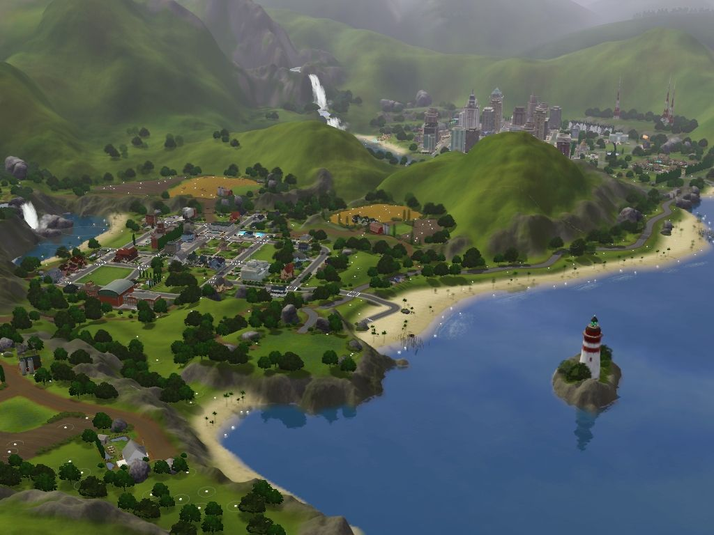 Custom Worlds For Sims 3 At My Sim Realty Sims 3 Worlds Sims 3 Custom Worlds Sims