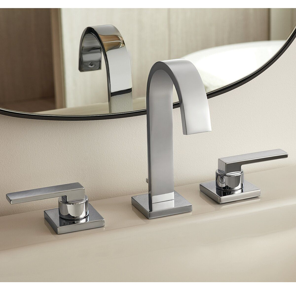 Lura Widespread Bathroom Faucet With Drain Assembly In 2021 Widespread Bathroom Faucet Bathroom Faucets Faucet