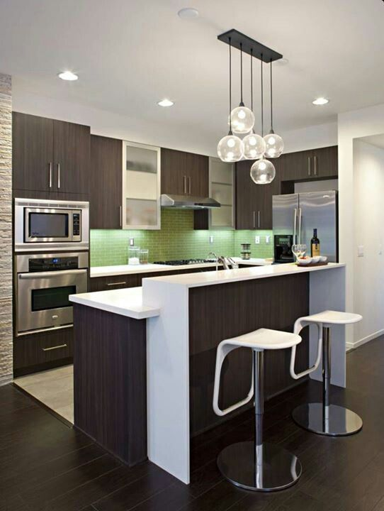 Small Open Concept Kitchen Kitchen Design Small Contemporary