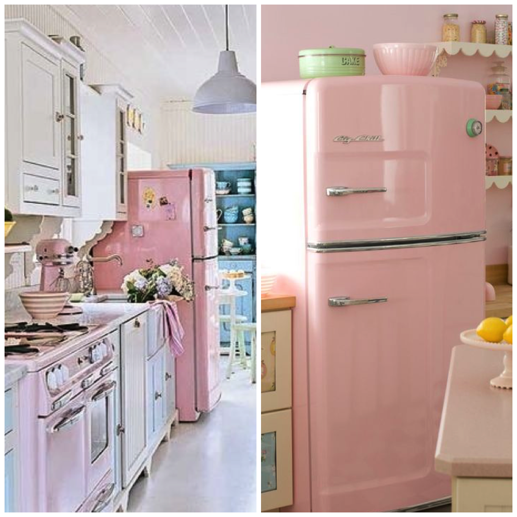 4 Chic Ways To Use Pink In Your Kitchen Pink Kitchen Appliances