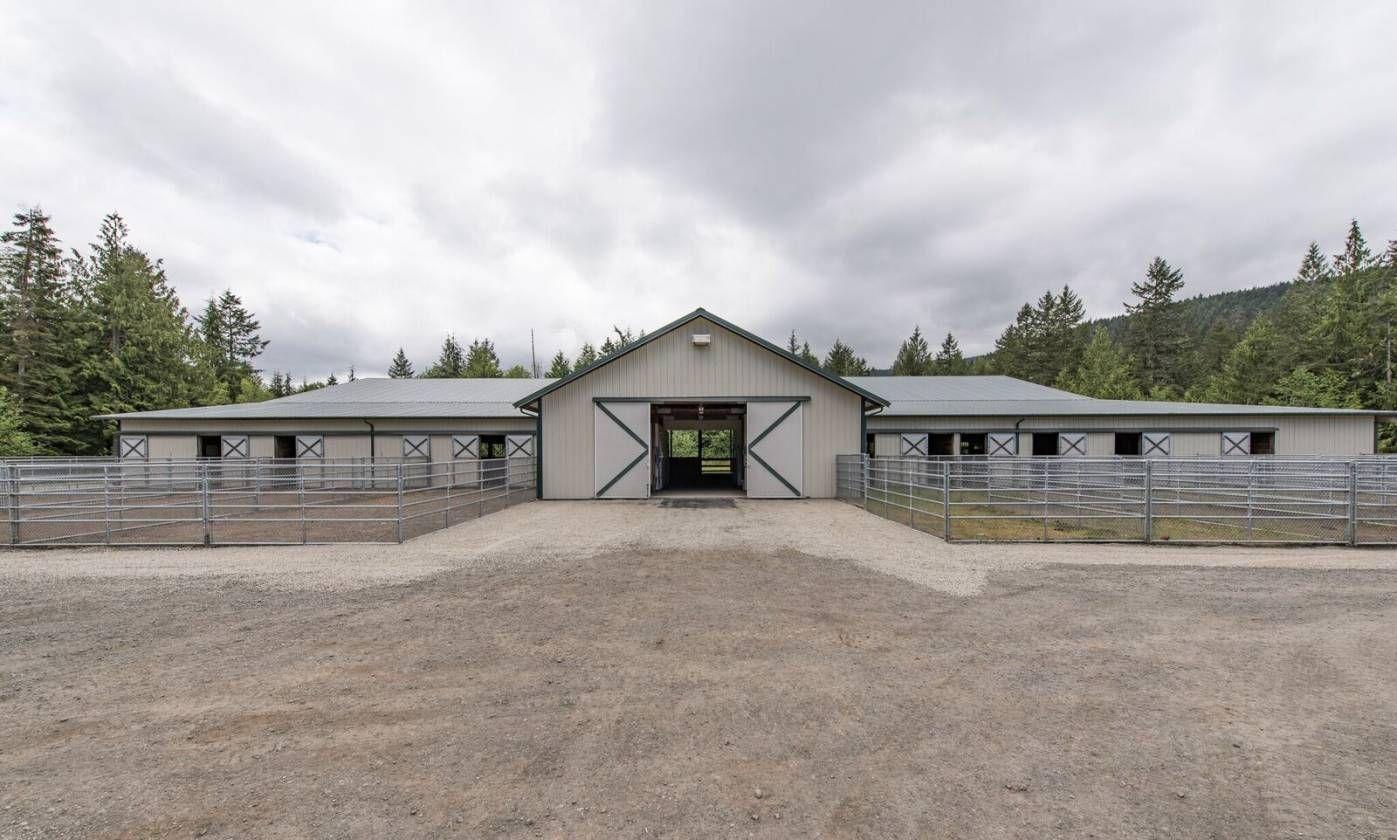 Equestrian estate for sale in clallam county in washington