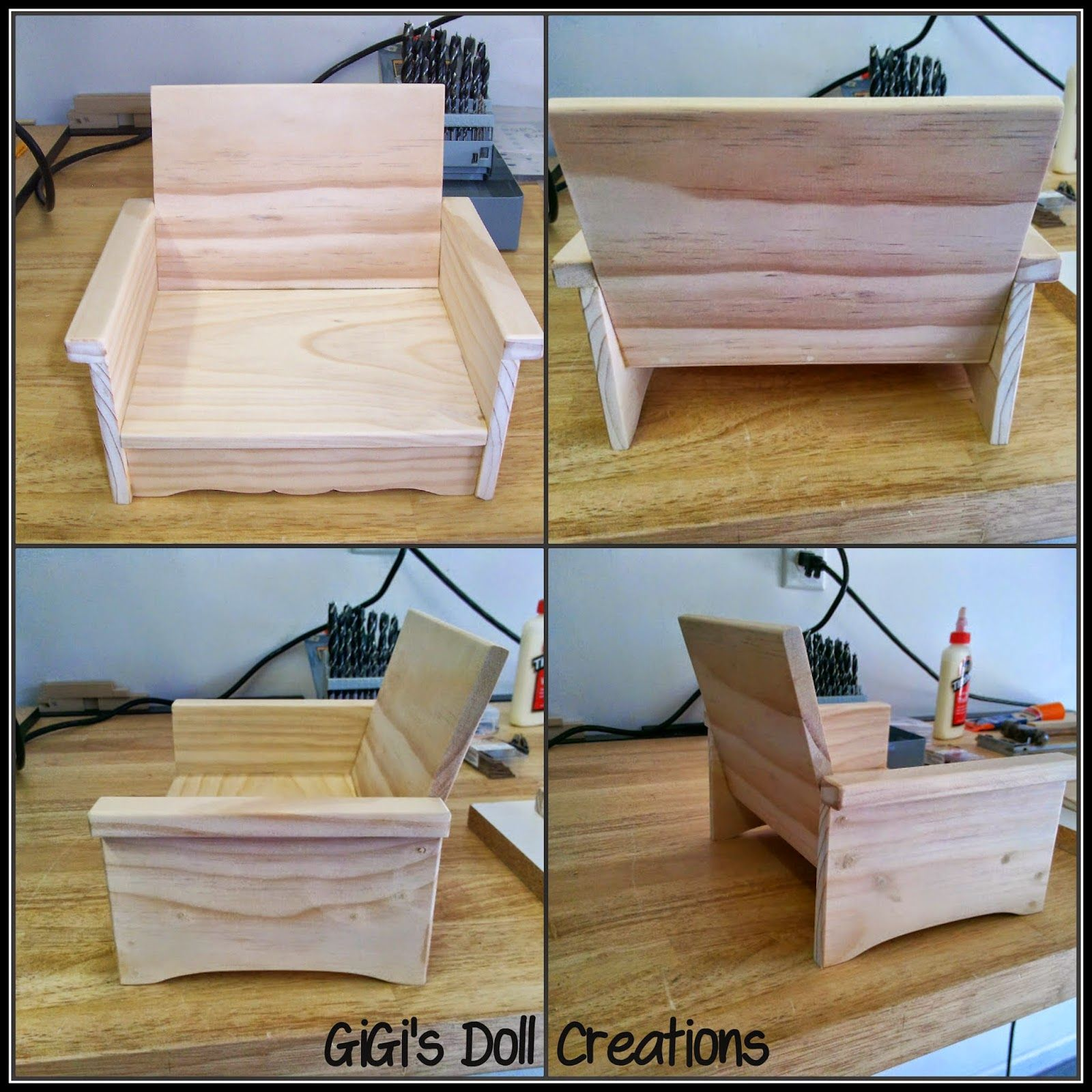 GiGi s Doll and Craft Creations 18 inch Doll Furniture for Living