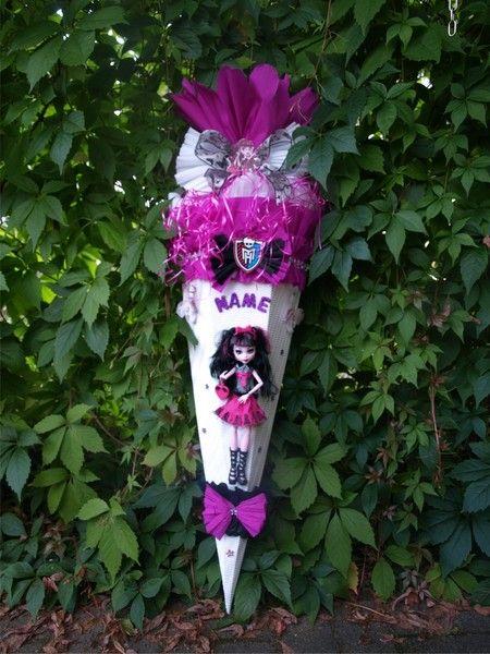SCHULTüTE Monster High 3 von my lillina auf DaWanda