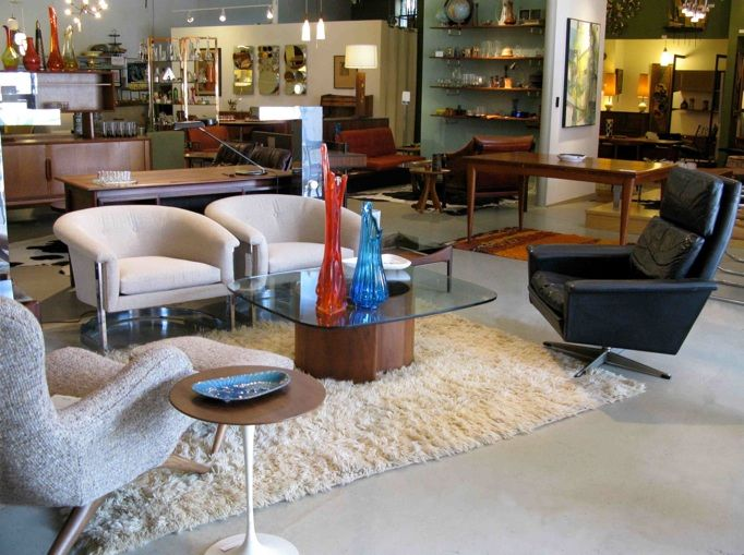 City Issue Mid Century Modern Furniture Store In Atlanta
