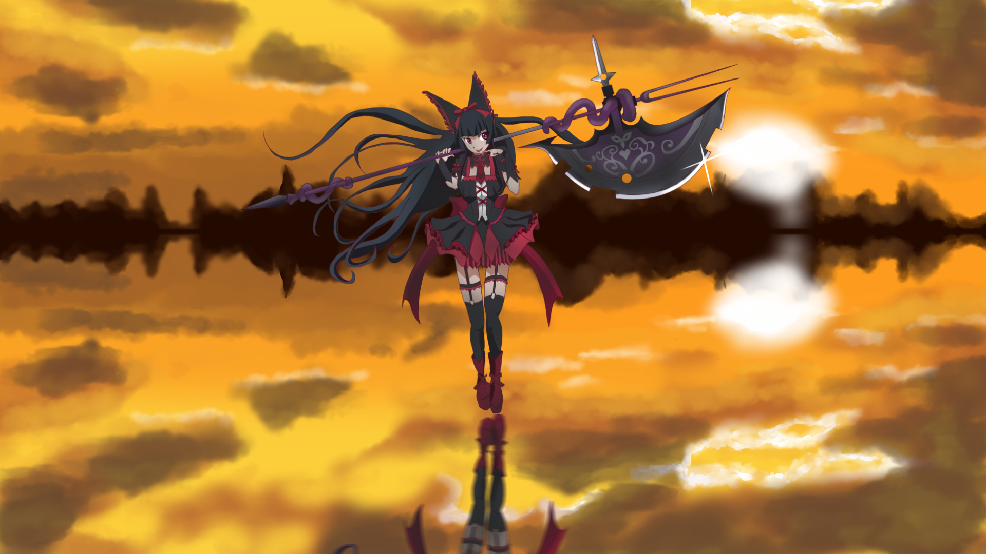 Anime Gate Jieitai Kanochi Nite Kaku Tatakaeri Rory Mercury