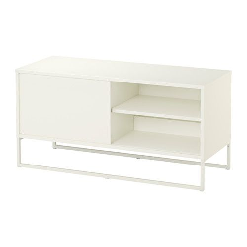 Tv bank weiß ikea  HAGGE TV-Bank, weiß weiß 100x40 cm | Home Sweet Home | Pinterest ...