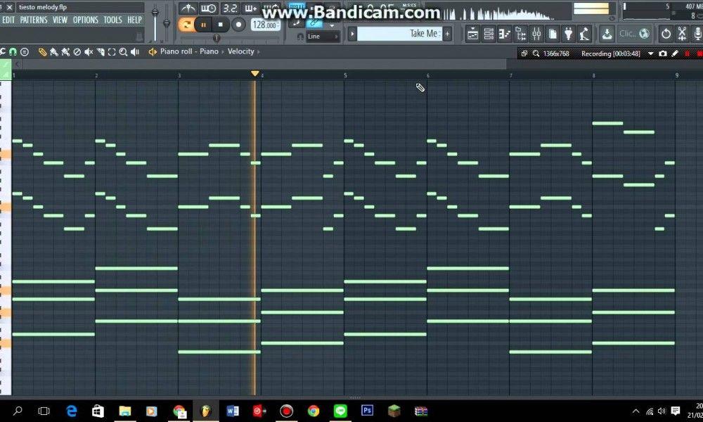 Tiesto Melody In FL Studio Melody, Beats studio, Studio