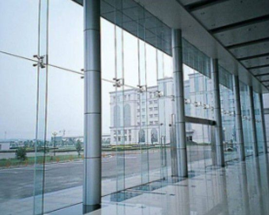Frameless Curtain Wall Google Search Glass Curtain Glass Building Curtain Wall