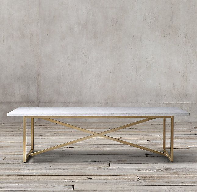 Rh S Torano Marble Rectangular Dining Table Exemplifying