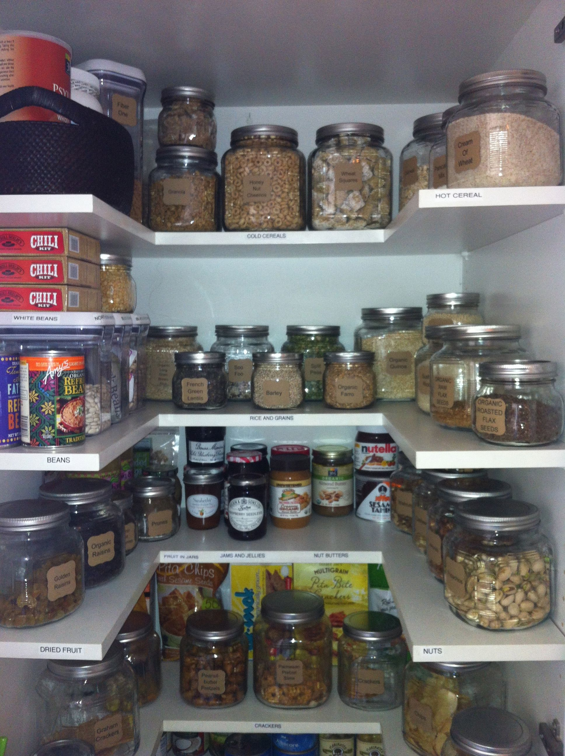 pantry organization | Kitchen & Pantry | Pinterest | Pantry ...