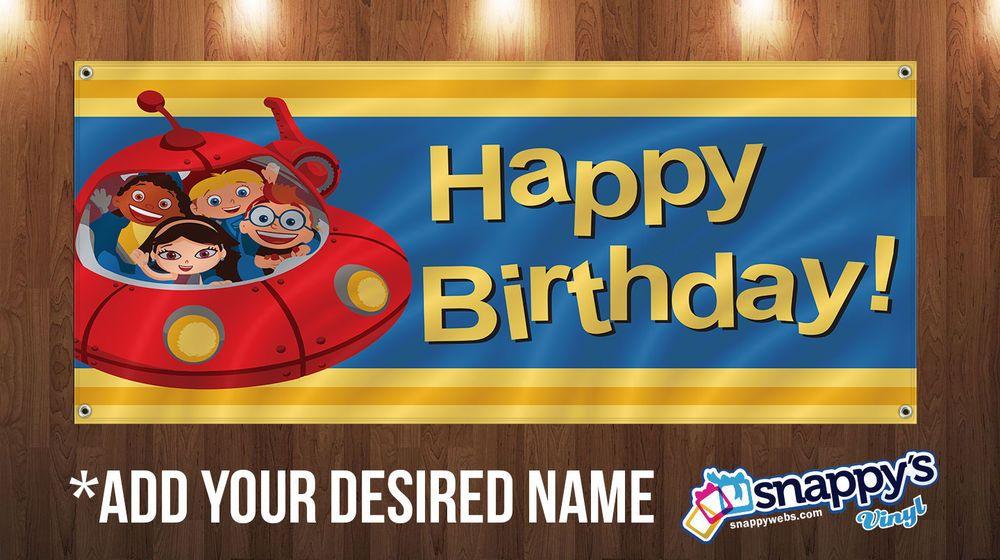 Details About Little Einsteins Custom Banner 4ft X2ft With Grommets Little Einsteins Birthday Little Einsteins Custom Banners