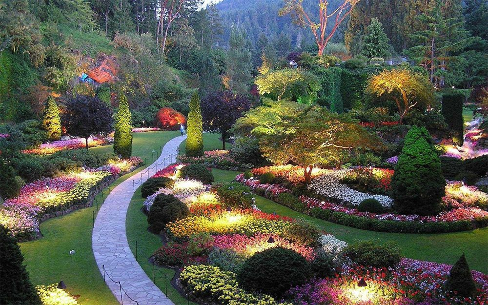 10 most beautiful gardens in the world gardens for Amazing small gardens