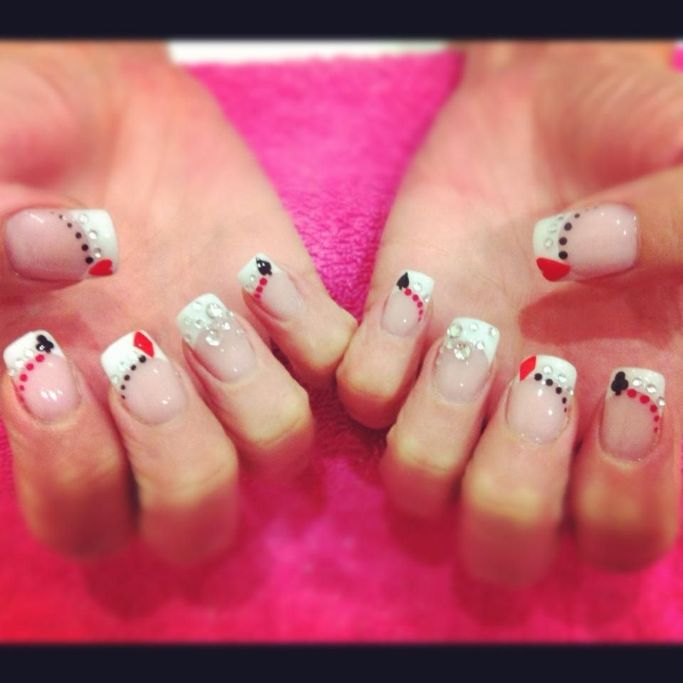 I Wanna Do This To My Nails When I Go To Vegas!