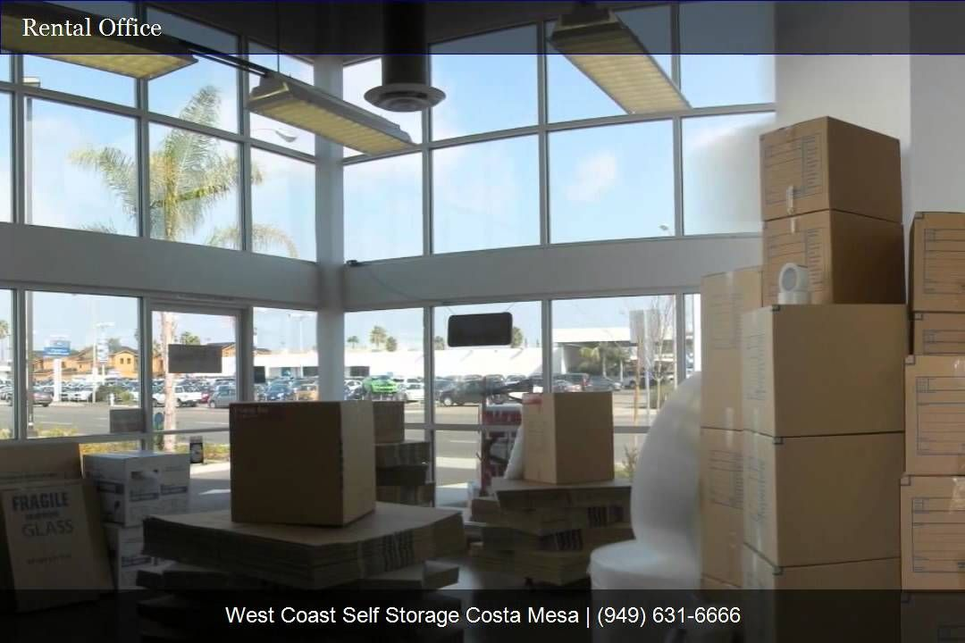 Charmant West Coast Self Storage Costa Mesa. We Have A Wide Variety Of Storage Units  At