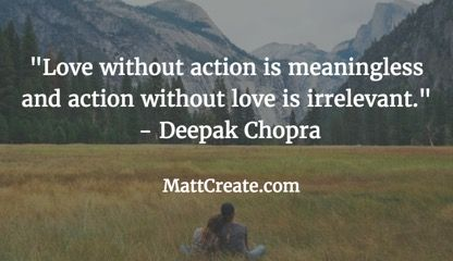 Quote Of The Day Feel Free To Forward Friends QuoteOfTheDay Qotd DeepakChopra Motivational Success Life