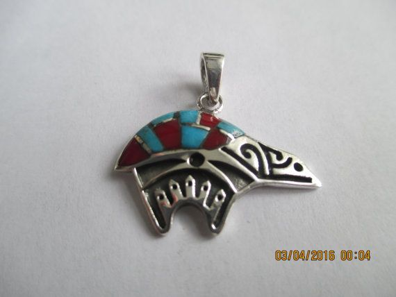 Zuni bear pendanterling silverwith turquoise by johnnybbjj zuni bear pendanterling silverwith turquoise by johnnybbjj mozeypictures Choice Image