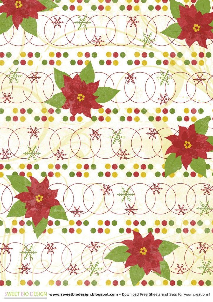 Papel decorado para Navidad   http://secreter.es/papel-decorado-para ...
