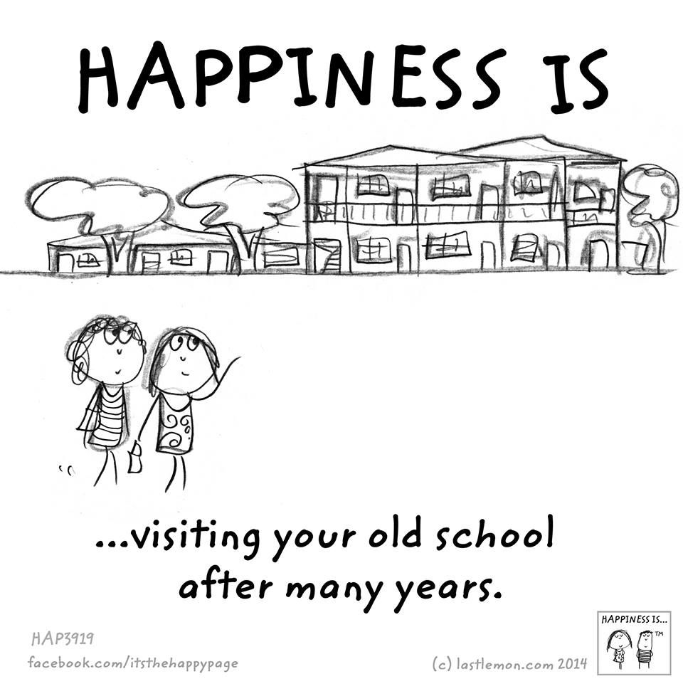 visiting your old school happiness is pinterest happiness