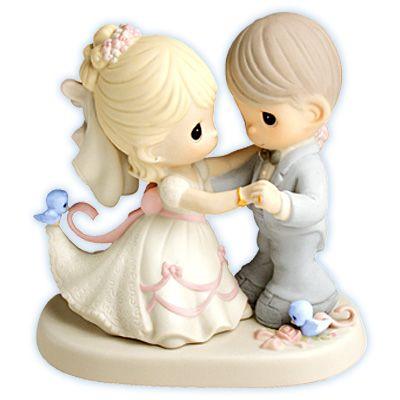 Precious Moments Figurines Buy Em Cheap Noivos Para Bolo De Casamento Bolo De Casamento Precious Moments